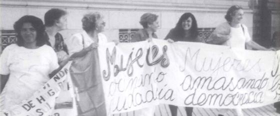 Plenario de Mujeres del Uruguay: imagen e idea