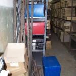 Documentación en el suelo sin organizar