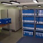 Interior de la sala de investigadores