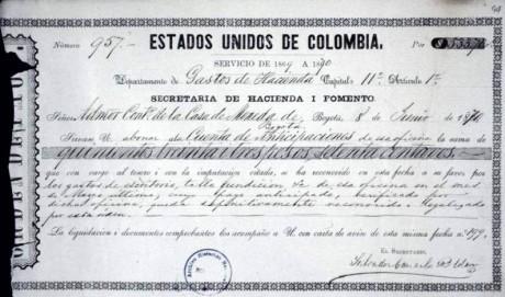 """Fondo """"Casa de Moneda"""" de la Sección República del AGN de Colombia"""