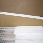 Caja de archivo y carpetas