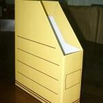 Caja de archivo abierta