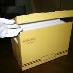 Caja de Archivo para carpetas tamaño oficio