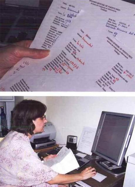 Corrección de catálogo filmográfico