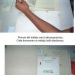 Proceso del trabajo con la documentación