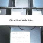 Cajas especiales de calidad archivística