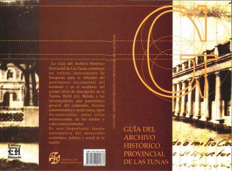 Guía General de los Fondos del Archivo Histórico Provincial de Las Tunas