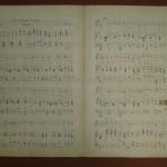 Restauración de partituras del Archivo Histórico Musical