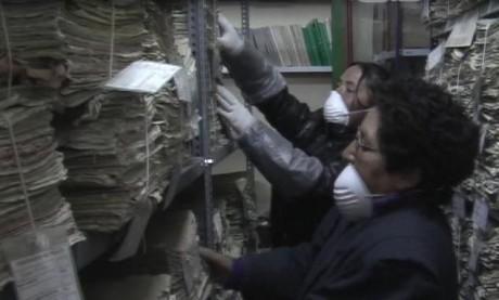 Conservación del Archivo Regional de Pasco