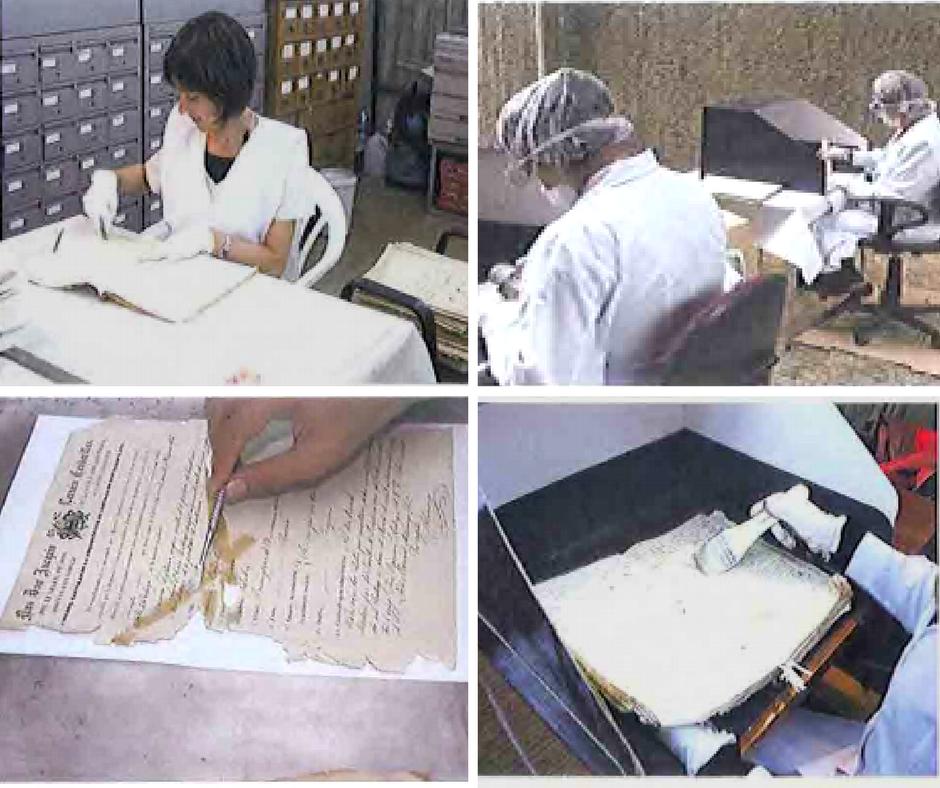 Conservación del Archivo Histórico del Arzobispado de Santiago (3ª fase)