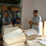 Archivo Municipal de Suchitoto. Proceso de organización