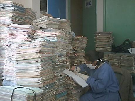 Unidad de Registro Médicos del Hospital Regional de Ayacucho