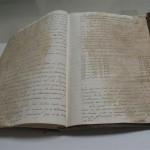 Libros de actas de Cabildo de la Colegiata de Guadalupe del siglo XIX (Antes del restauro)