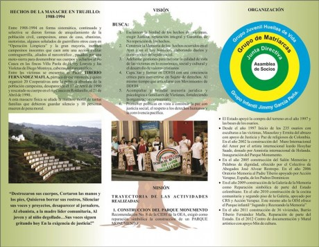 Asociación de familias de las víctimas de los hechos violentos de Trujillo