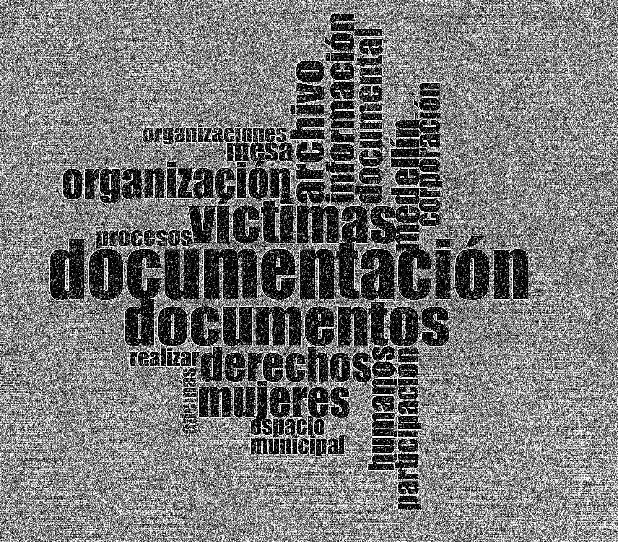 Censo de archivos de organizaciones defensoras de derechos humanos en Antioquia (Colombia) (1ª fase)