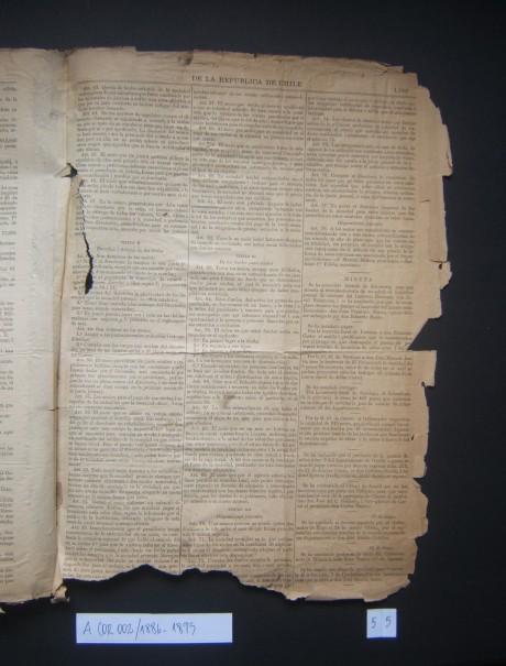 Fondos del Archivo de la Sociedad de Artesanos La Unión de Santiago