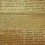 Prensa del siglo XIX. Antes de la restauración