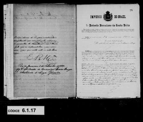 Série Escravidão - Arquivo Geral da Cidade do Río de Janeiro