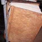 Conservación y restauración de los protocolos notariales del siglo XVIII
