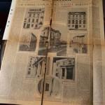 Estado de uno de los documentos más antiguos, antes de la intervención