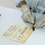 Proceso de conservación de una pieza