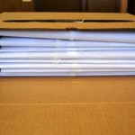 Caja con documentación archivo Grilherme Braga da Cruz