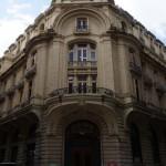 Facultad de Filosofía y Letras, U.B.A. Fachada de la sede de 25 de mayo 217, Buenos Aires