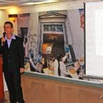 """El Jefe del Departamento de Fondos Documentales, de la Dirección del Archivo Nacional, Jorge Luis Núñez Alvarado, ilustró al público presente con el tema: """"Normas de Descripción Documental ISAD (G)"""