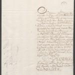 29-01-1764, São Tomé – Carta do Cabido de São Tomé a D. José I sobre haver pardos, pretos e brancos da terra na Sé