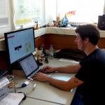construção de uma interface na web