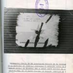 """Sumario de 1976 con motivo de una detención """"por pegar panfletos de la organización proscripta Montoneros"""""""