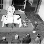 Testimonio de la realización de rituales religiosos durante los eventos universitarios. Odontología 1981