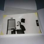 Tareas de conservación de los documentos fotográficos 1976-1986