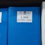 Ordenación de los expedientes producidos entre 1976 y 1986 en la UNLP
