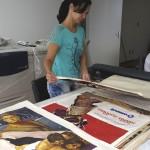 """""""Conservação e acesso ao Arcervo de Cartazes cinematográficos do CRAV"""""""