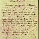 Primera pagina del diario personal del D. Ricardo J. Alfaro
