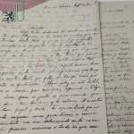 Cartas manuscritas por el D. Ricardo J. Alfaro a su esposa Amelia Lyons
