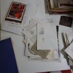 Documentos antes de la intervención.