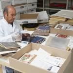 organización del material y conservación