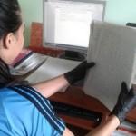Ordenamiento de los documentos por folios