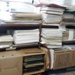 Almacenamiento del soporte físico de los documentos digitalizados