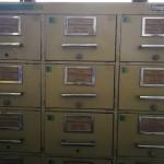 Fotografía de ficheros del fondo Relaciones Exteriores