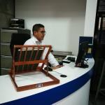 Fotografía de un contratista del proyecto.