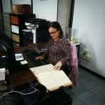 Fotografía de una contratista del proyecto.