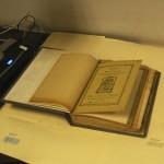 Desarrollo del proyecto en las instalaciones del Archivo Histórico Arquidiocesano.