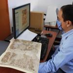 Proceso de validación de las imágenes digitalizadas con el físico y la paleografía.