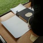 Elaboración de guardas para los volúmenes identificados como prioritarios por su estado de conservación.