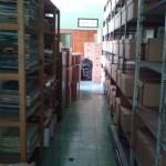 Vista de los documentados inventariados no inventariados.