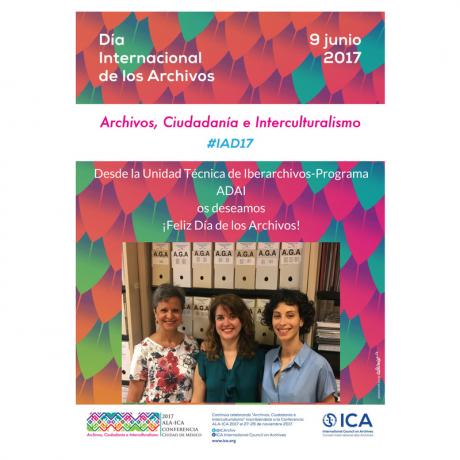 Desde Iberarchivos-Programa ADAI os deseamosFeliz Día de los Archivos