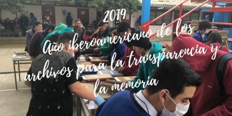 2019Año iberoamericano de los archivos para la transparencia y la memoria